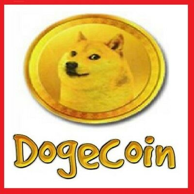 1000 Dogecoin Dogecoins Ɖ Crypto Currency Direct to your Wallet !!!