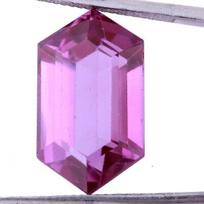 18.70 Ct.Synthetic Purple Sapphire Faceted Fancy Octagon Color Changing Gemstone