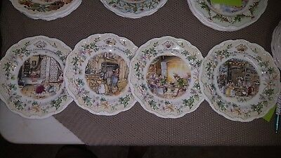 "Royal Doulton Brambley Hedge ""Secret Staircase"" Plates"