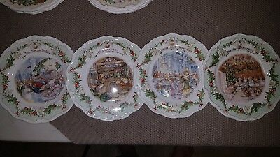 "Royal Doulton Brambley Hedge ""Midwinter Series"" Plates"