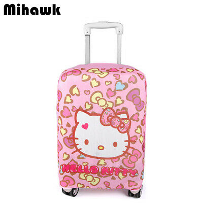 Hello Kitty Elastic Luggage Protective Cover Girl Travel Trolley Suitcase Dust