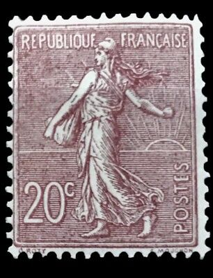 Timbre France N° 131 ** Semeuse Neufs Gomme Sans Charniere Ni Trace
