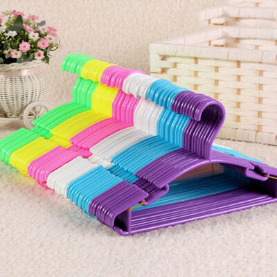 New Baby Kids Children Trouser Clothes Wardrobe Coat PP Hangers 10pcs tb2