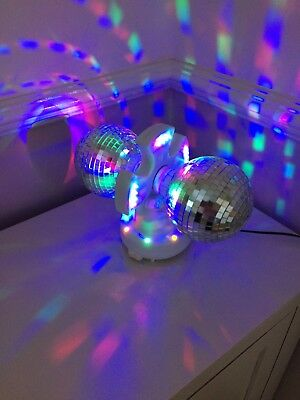 Party Lights Double Disco Ball