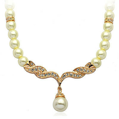 Jewelry Necklace Pearl Wedding Bride Bridal Jewelry Gift