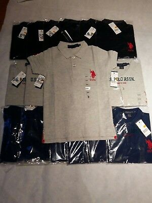 Wholesale Joblot US Polo T Shirts New With Tags X 18 **Bargain**