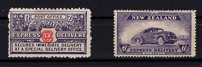 P38741/ New Zealand / Delivery / Y&t # 1 - 3 Neufs * / Mh 59 €
