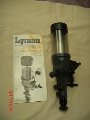 Lyman Ideal 55 Powder Measure