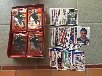 1995 Dynamic Rugby League Series 1 Trading Cards Opened Box Full Set