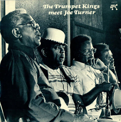 Trumpet Kings Meet Joe Turner vinyl LP album record UK 2310717 PABLO 1975