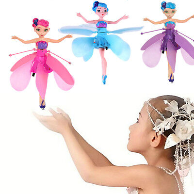 Fairy Flying Magic Infrared Induction Control Dolls Toy Xmas Gift For Children U