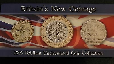 2005 Britain Brilliant Uncirculated Coin Collection