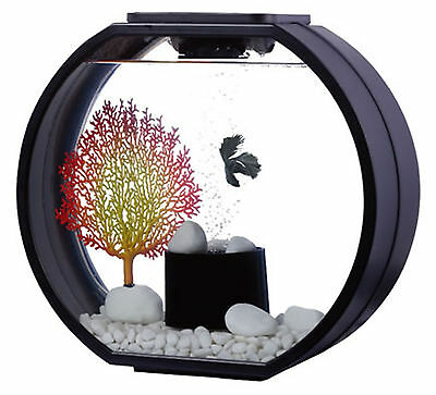 Fish R Fun, Deco Fish Tank 20L Black