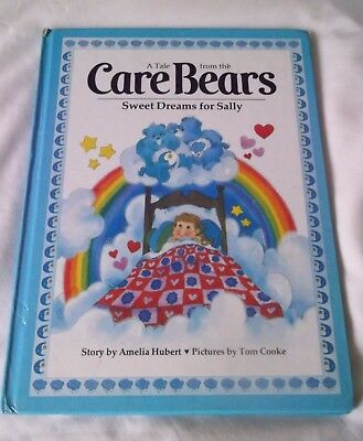 Vintage 1984,a Tale From The  Care Bears 'sweet Dreams For Sally'