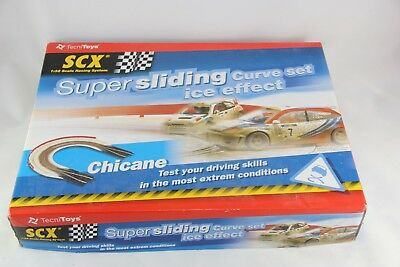 Scx Classic Track - 88120 - Curved Chicane - Snow Effect