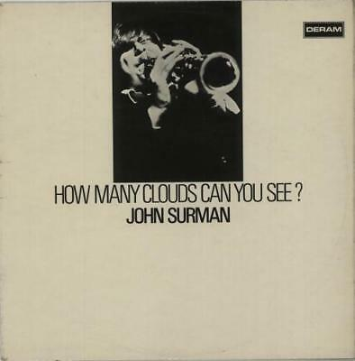 John Surman vinyl LP album record How Many Clouds Can You See? - 1st UK