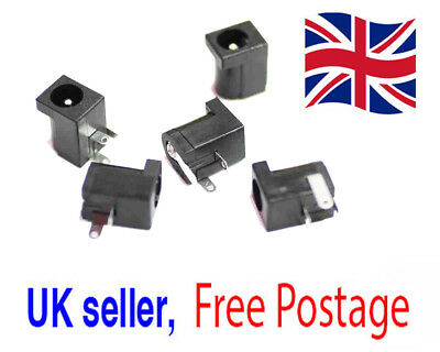 DC Power Supply Jack Socket DC-005 2.0mm Female PCB Charger Socket UK Seller