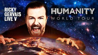 Ricky Gervais Humanity Tour Live At Dolby Theatre Sat Oct 28Th 4 Tickets Avail