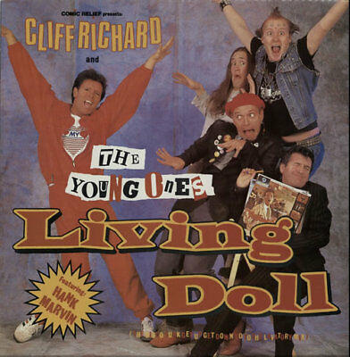 "Cliff Richard 12""  record (Maxi) Living Doll (The Disco Fun... UK"