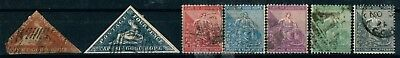 South Africa Cape Of Good Hope Early Used Stamps