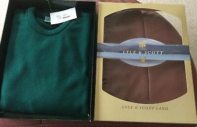 Lyle And Scott Crew Neck Jumper Large Boxed BNWT