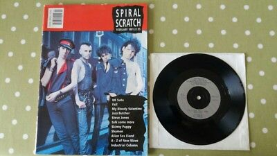 SeX PisTols Spiral scratch magazine with Sid Vicious single