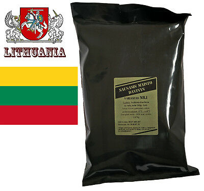 Lithuanian Military MRE (Meal Ready to Eat) - Different Menus + FREE SHIPPING