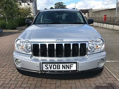 *limited Edition* 08 Diesel Grand Cherokee Crd-4X4, Full Leather, Mot March 2018