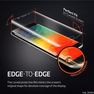 5x Protective PET Screen Protector Flim For Samsung Galaxy S7 S6 Edge S8 + Note8