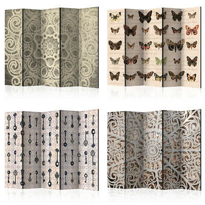 DECORATIVE PHOTO FOLDING SCREEN WALL ROOM DIVIDER ABSTRACT m-C-0242-z-b