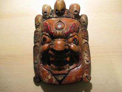 Antique mask from Tibet ca. 1890!