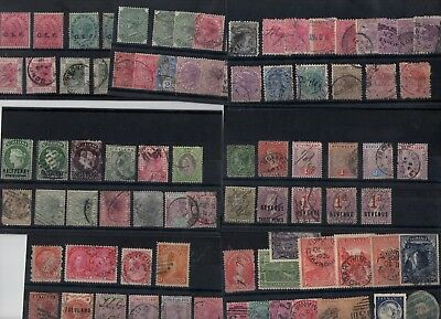 #329 CW QV Victoria 18.. misc on 10x cards +10x covers Nepal & NSW