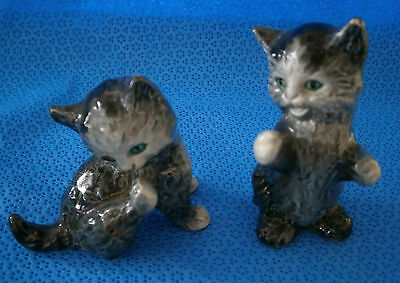 Goebel W Germany 2 Cats Figurine Bone China