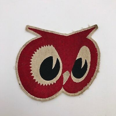 "Vintage Red Owl Grocery Store Advertising Large 5"" Sew On Patch"