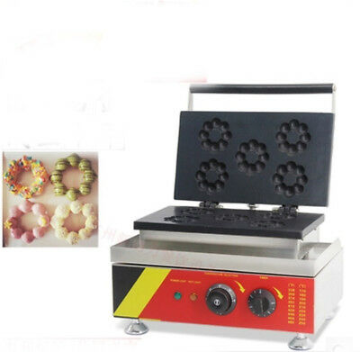 Electric Mini Donut Waffle Machine Small Kitchen Home Appliance 380MM*350MM~
