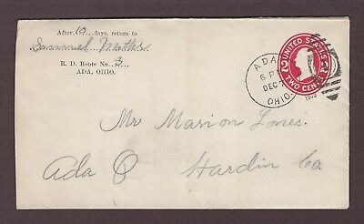 mjstampshobby 1909 US Vintage Cover With Letters Used (Lot4870)