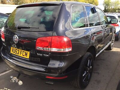 53 Volkswagen Touareg 5.0 V10 Tdi Very Rare Car, Mega Spec Leather & Sat Nav