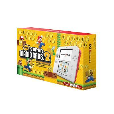Nintendo® 2DS - Scarlet Red with New Super Mario Bros. 2Game Pre-Installed