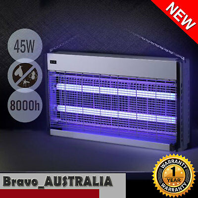 Electric Bug Zapper Insect Killer Fly Trap Trapper Mosquito Pest Catcher