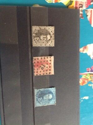 Three Belguim Vingt Cent Stamps In Job Lot