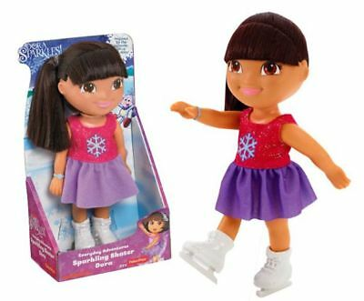 Sparkling Skater Dora Doll 22 Cm - Fisher Price