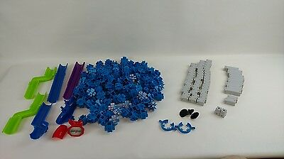Techno Gears Marble Mania Lot of  490 Remplacement Extra Pieces Parts