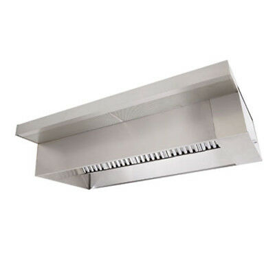 7' Type 1 Commercial Kitchen Hood