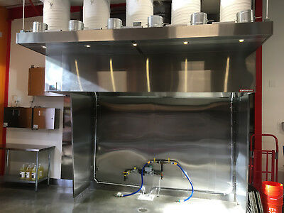11' Type 1 Commercial Kitchen Hood
