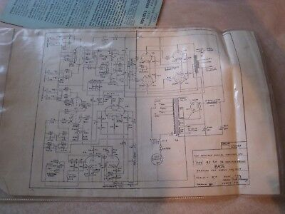 Vox AC30 origial 1960s circuit diagram the real thing !!!!