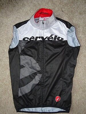 Used - Excellent Condition Cervelo Castelli Cycling Gilet - Size Small
