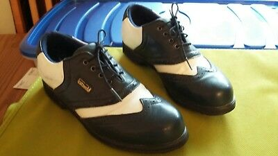 Cotswold, Bianca, ladies golf shoe. size 6 - coated leather upper.