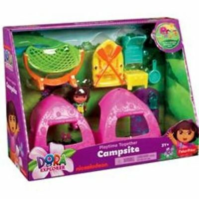 Dora Campsite Set With Accessories - Fisher Price