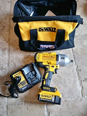 "DEWALT 20V Max  XR  1/2"" Brushless 3-Speed Impact DRILL DCF899 W/ CHARGER NEW"