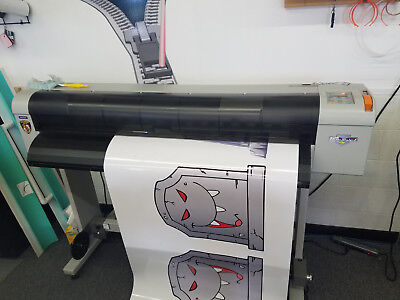 "MUTOH ValueJet 1204 (Prismjet) 48"" ECO SOL Large Wide Format Outdoor Printer"